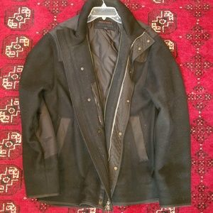 Banana Republic Jackets & Coats - Banana Republic black waistcoat size larger